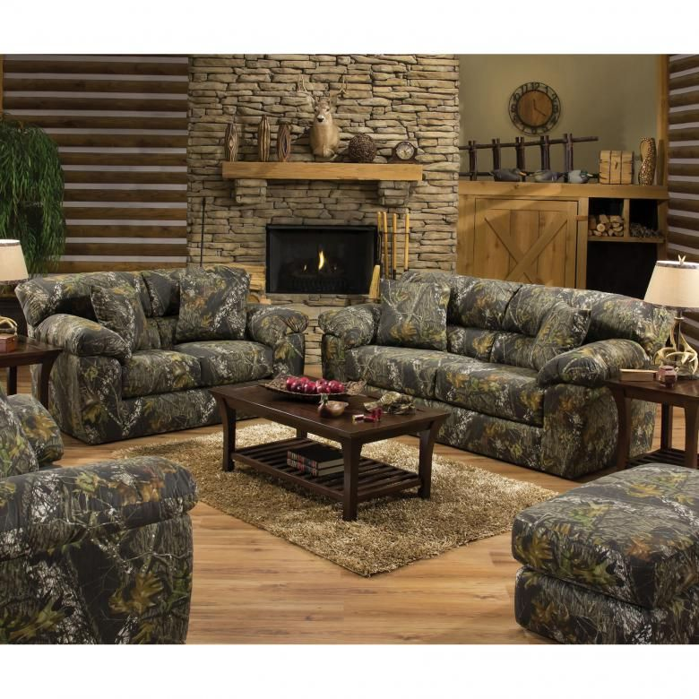 Jackson Big Game Camouflage Chair And A Half Camo Living Rooms
