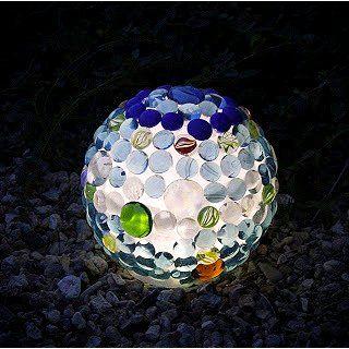 #DIY Glowing Garden Ball