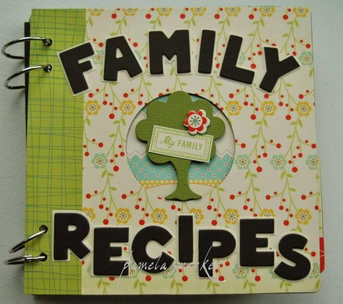 Treasured Family Recipe Book
