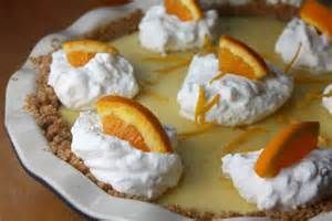 Orange Custard Cream Pie
