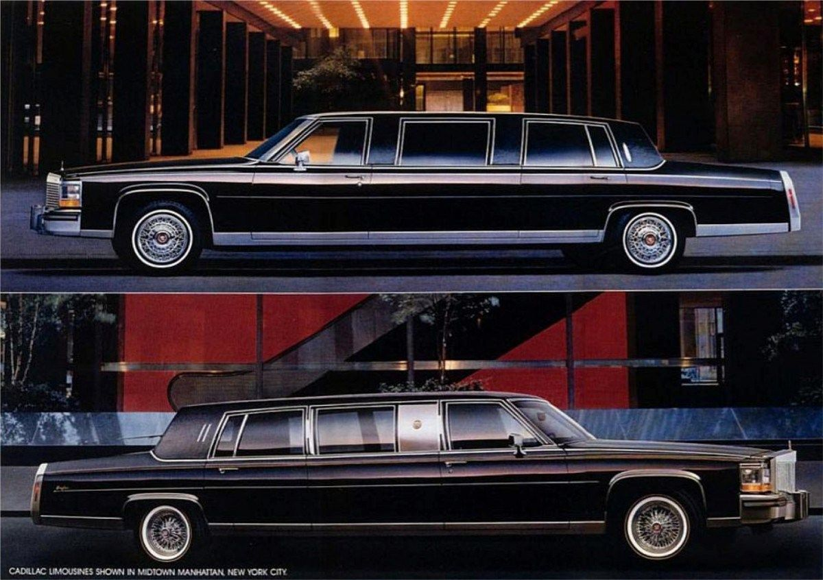 Pin On Car Advertisements Cadillac Limousine