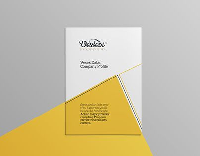 Agency Annual Report Book Brand Brochure Business Clean