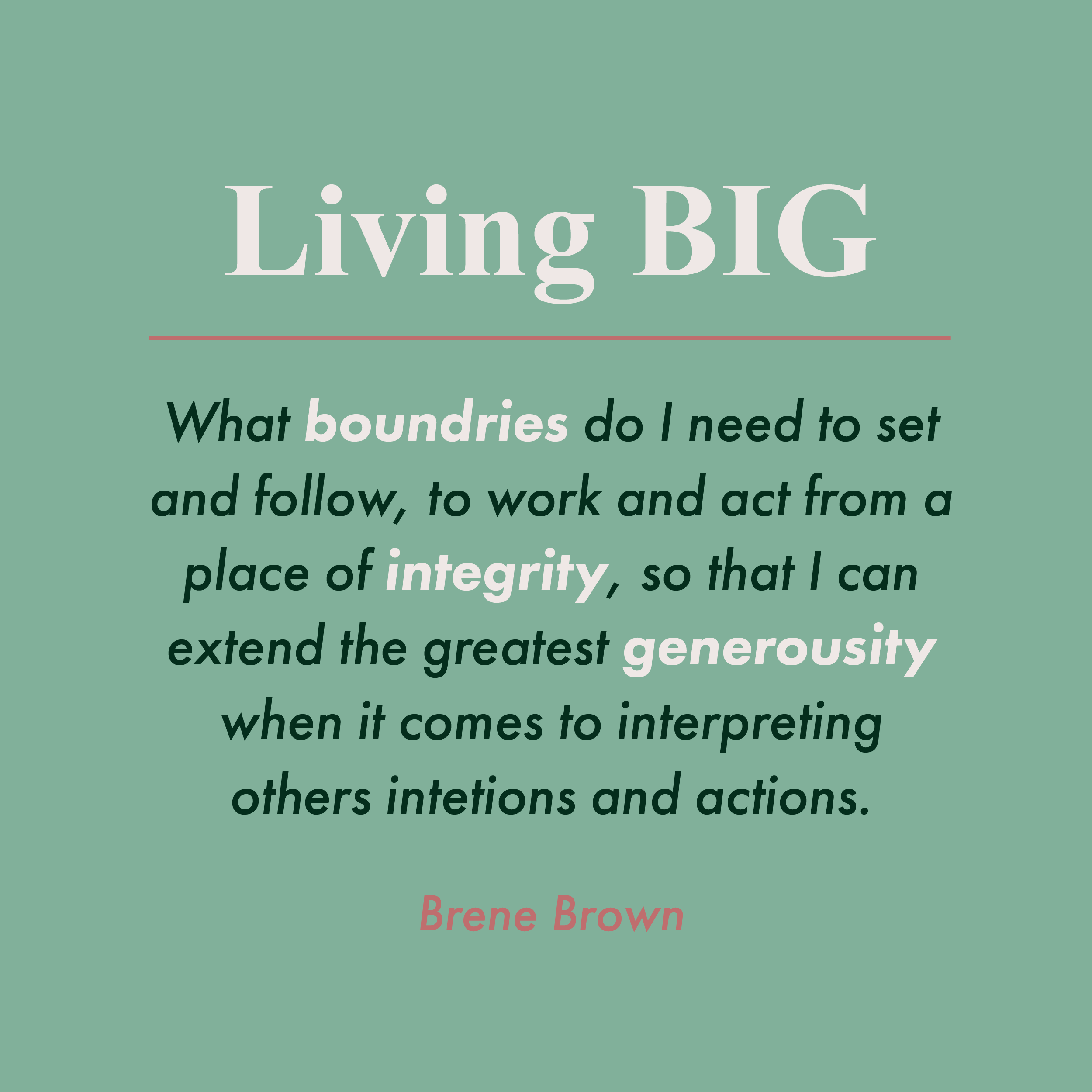 Brene Brown Continues To Amaze Me With Her Insightfulness