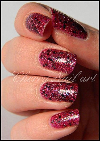 Vernis Shimmer Mary Cherry Nails Nails Cherry Nail Art