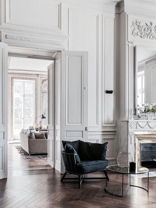 Pin By Morgan Gowdey On Decorating Pinterest French Apartment Interior Design And