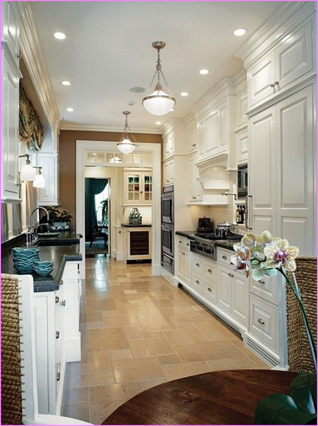 galley kitchen lighting - Google Search | Lighting | Pinterest ...