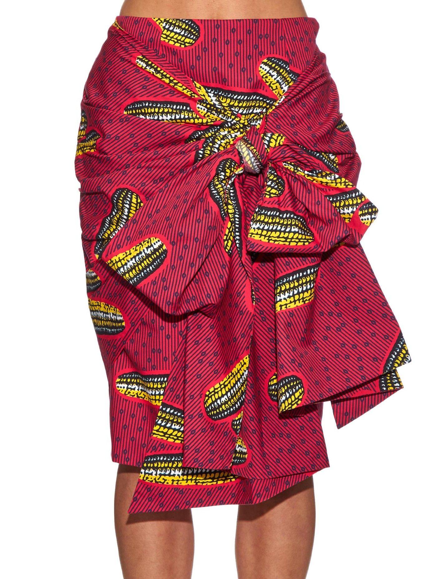 0e205ce4b stella jean dugongo printed skirt | african print fashion | Skirts ...