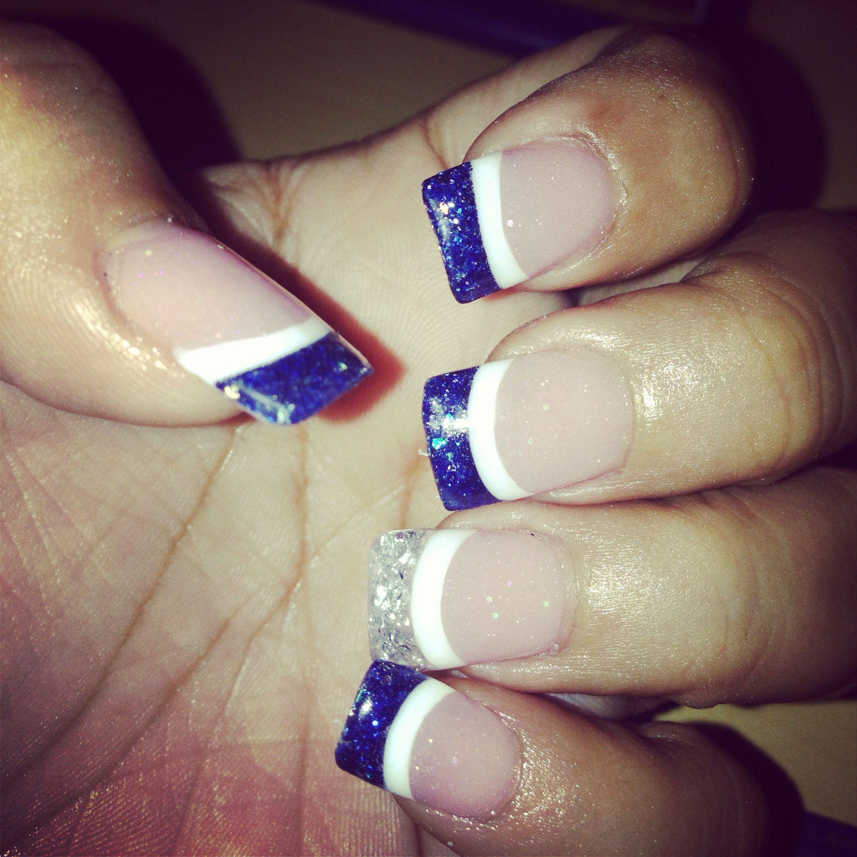 Dallas Cowboys Fingernails nails Pinterest