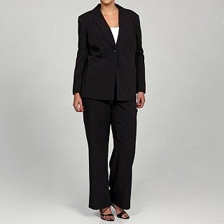 682973e9 Emily Women's Plus-size Career Two-piece Pant Suit | Overstock.com ...