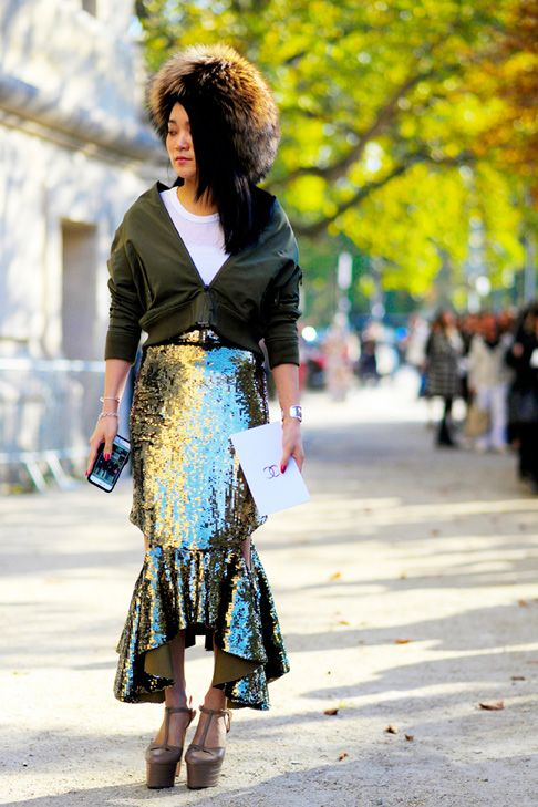 Grand Palais  #Fashion, #FW16, #Moda, #Mode, #Paris, #PFW, #SS17, #Street, #StreetStyle, #Style,  #Woman, #Women Photo © Wayne Tippetts
