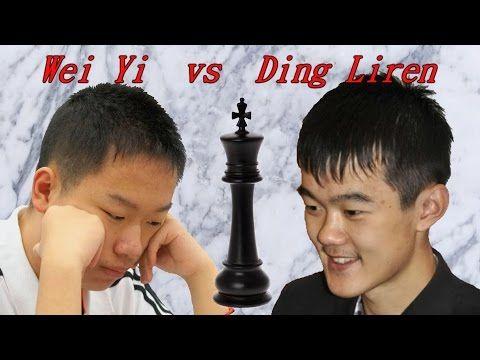 Partite Commentate di Scacchi 169 - Wei Yi vs Ding Liren - Kung Fu Scacchi - 2015 [C67] - YouTube