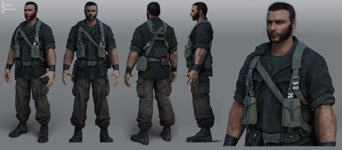 Victor creed sabretooth from the video game x men - Wolverine cgi ...