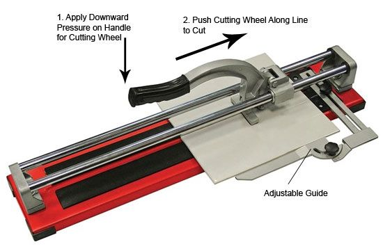 Cutting Ceramic Tiles | Tile cutter and Diy doctor