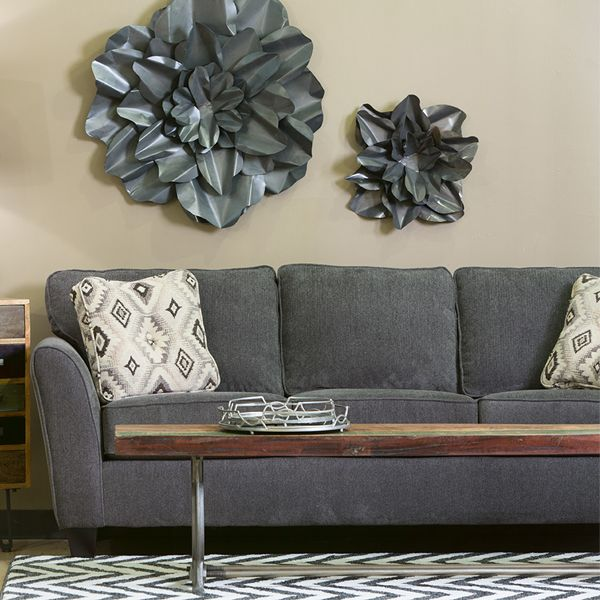 Enjoyable We Covered Our Navajo Sofa In A Soft Gray Chenille And Added Inzonedesignstudio Interior Chair Design Inzonedesignstudiocom