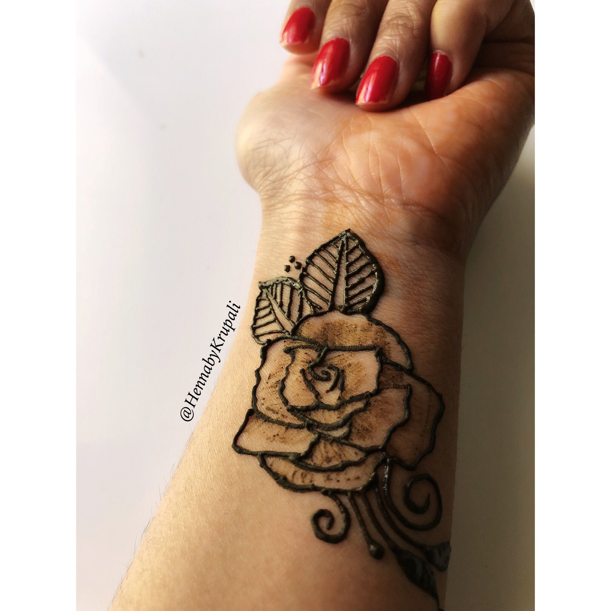 Henna Rose Simple Henna Tattoo Henna Tattoo Hand Rose Tattoo