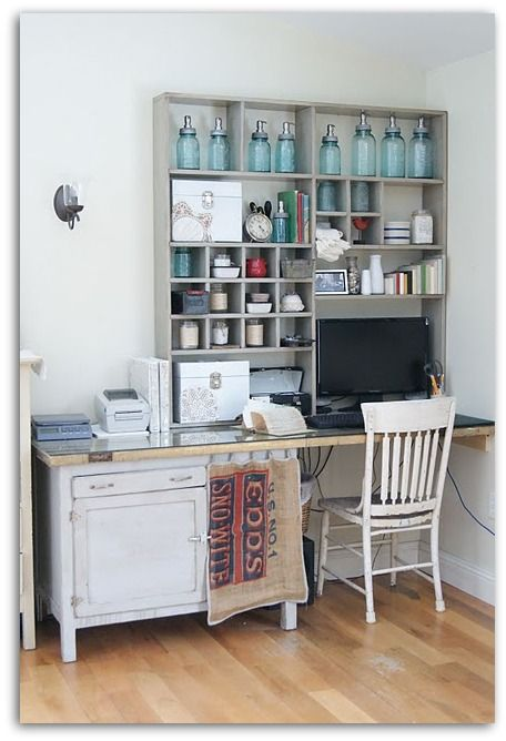 Escritorio para espacios pequeos Home office ideas Pinterest