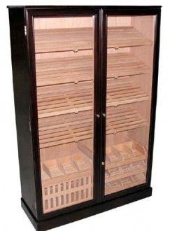 4,000 Cigar Cabinet Humidor. Because You Never Want To Run Out.
