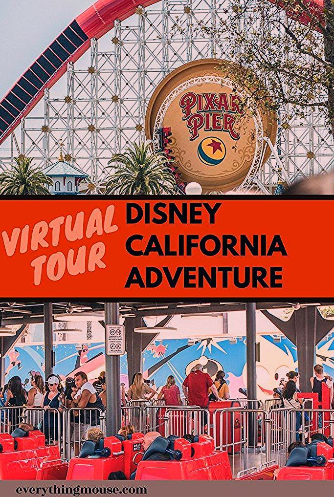 Photo of Disney California Adventure Virtual Tour – EverythingMouse Guide To Disney