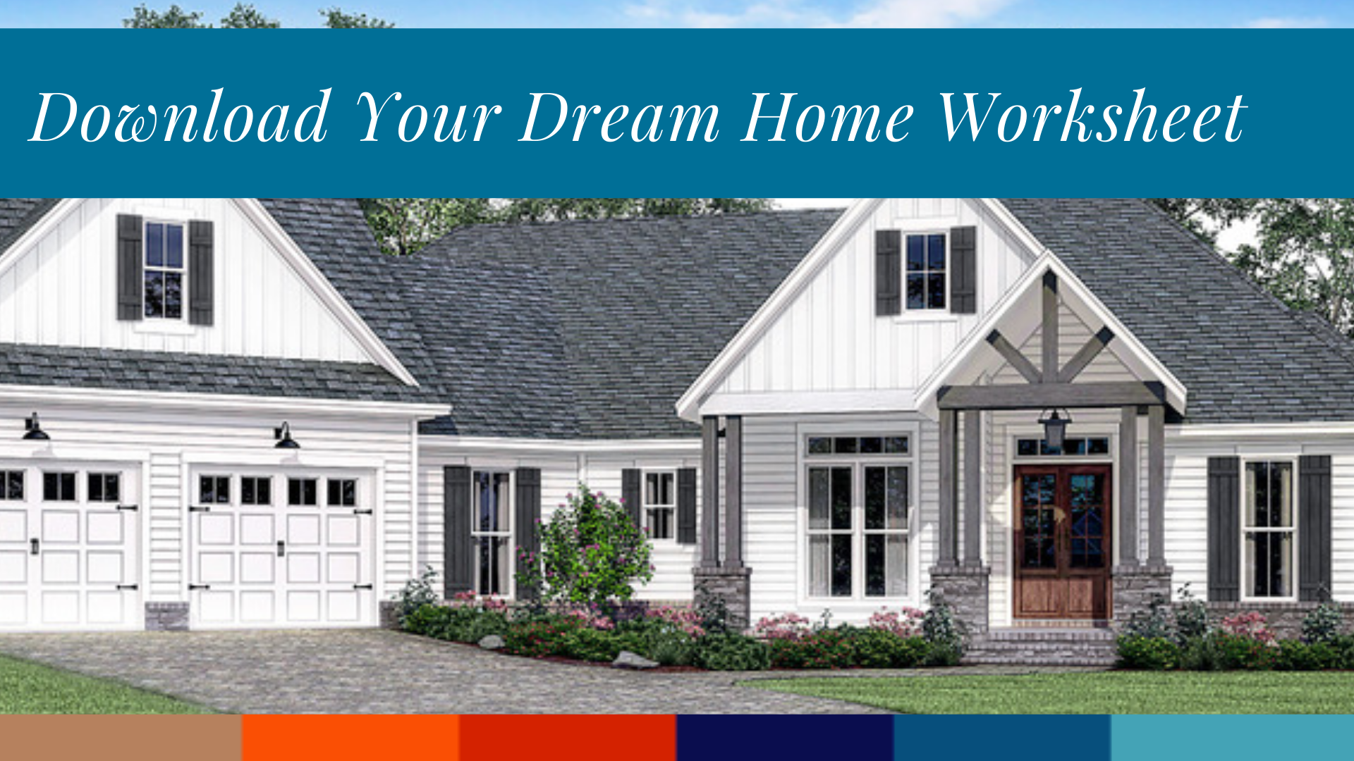 Design Your Dream Home Worksheet In
