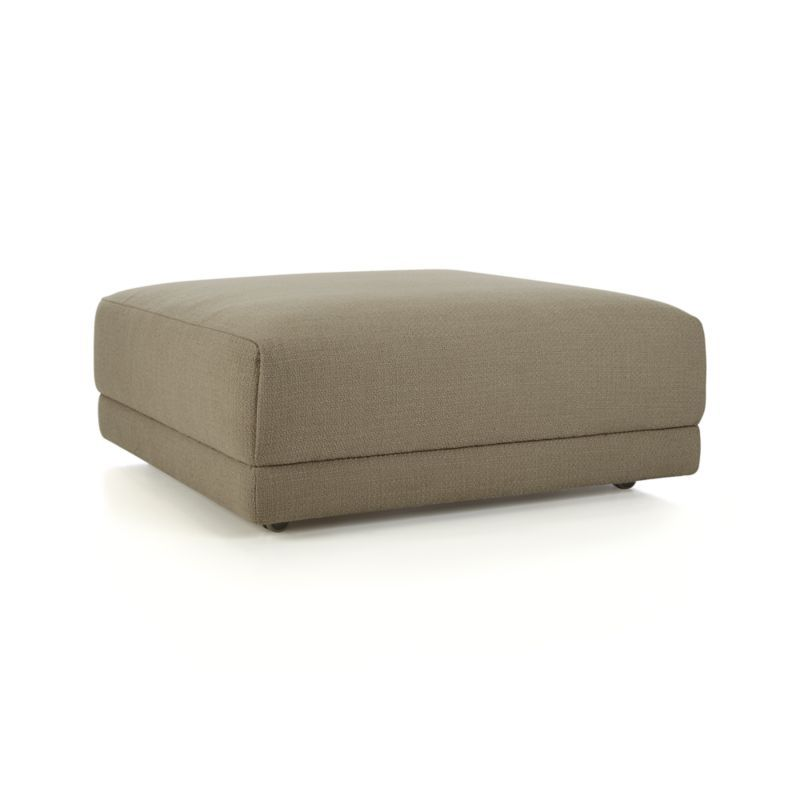Flexsteel Sofa Annexe Square Ottoman Crate and Barrel