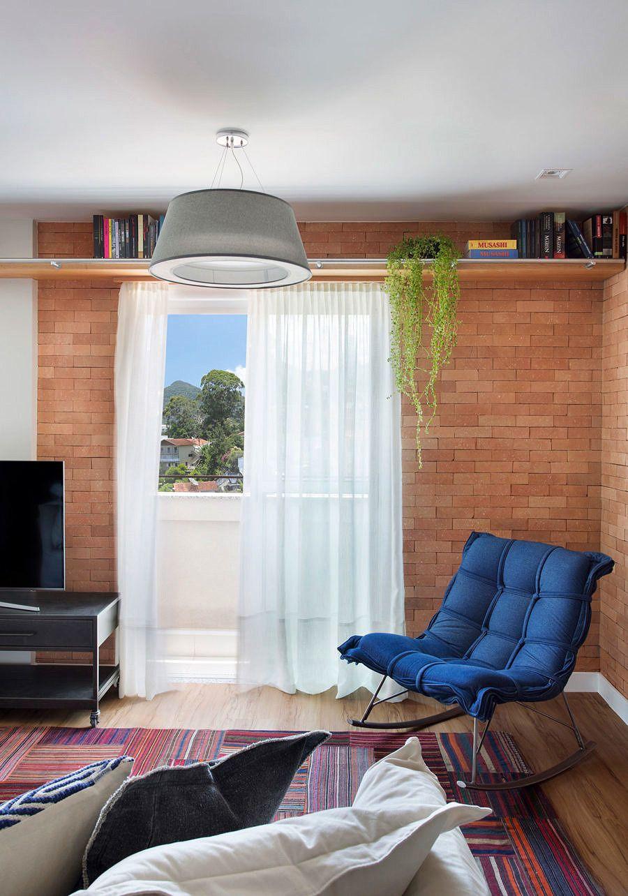 Detalhes Afetivos Em 44m Com Imagens Decoracao Apartamento