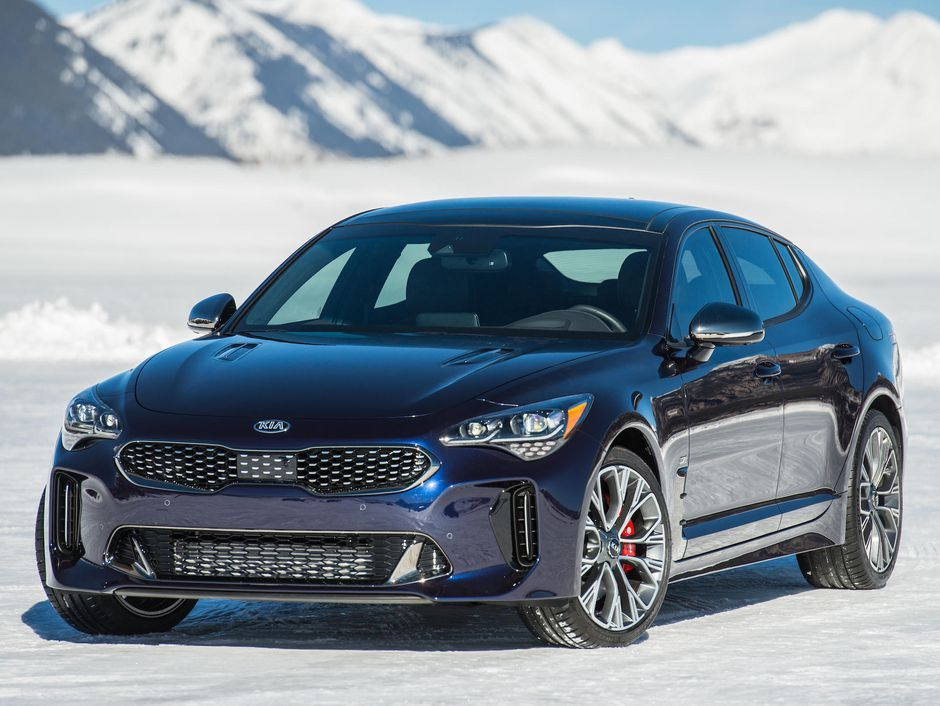 2019 Kia Stinger Gt Atlantica Is A Sharp Grand Tourer That Blue By