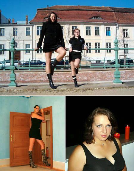 Caroline Welz Tallest Woman Alive