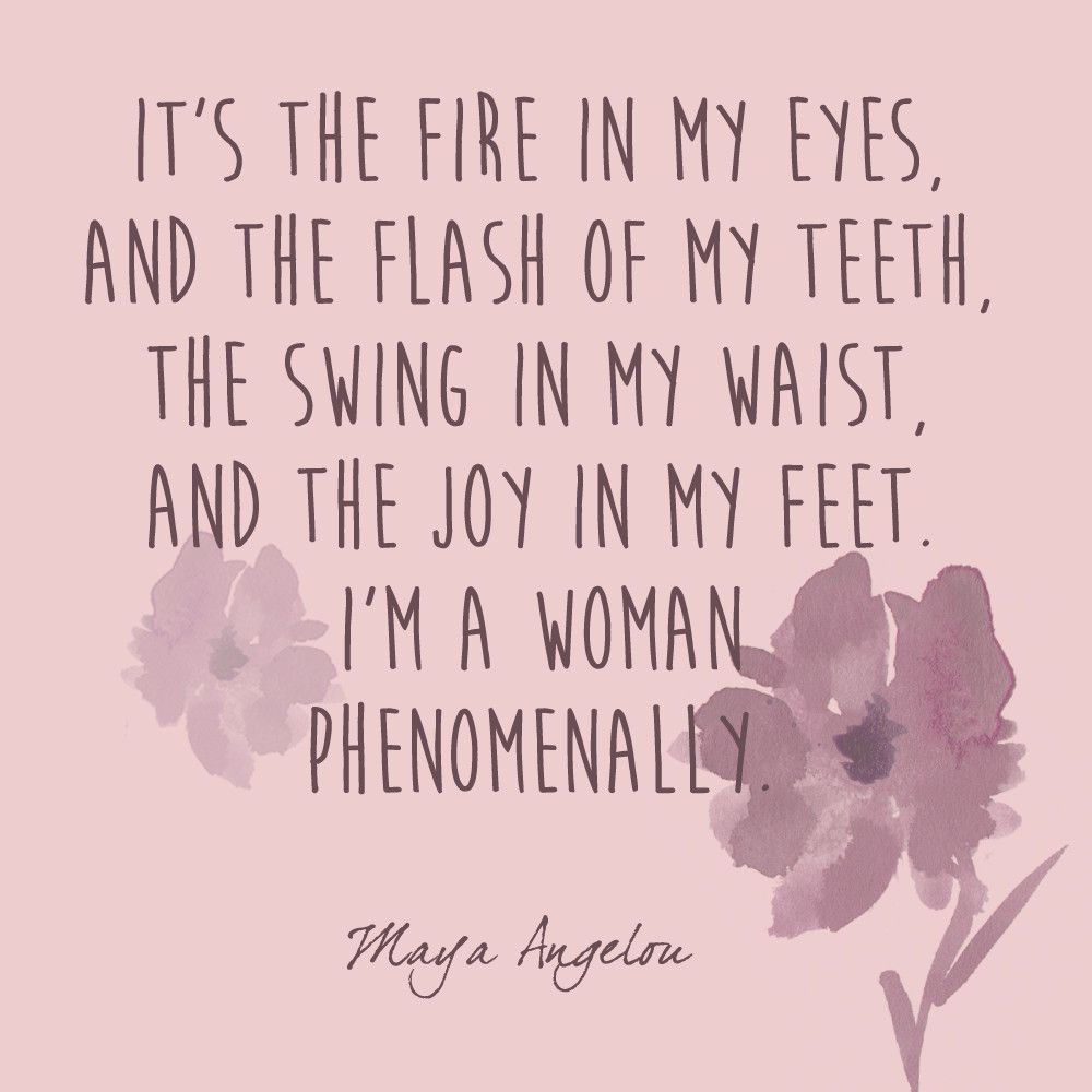 Phenomenal Woman Maya Angelou Quotes Women Maya Quotes