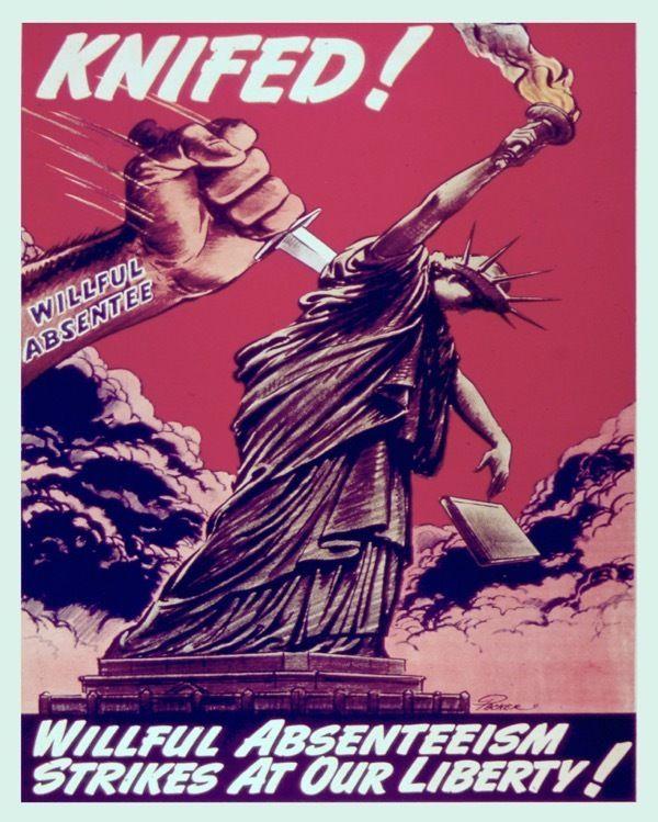 CIVIL RIGHTS SOVIET UNION LIBERTY STATUE USSR Poster Political Canvas art Prints