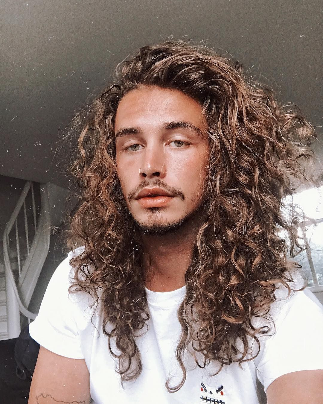 Pin By Dave Heavrin Brown On Long Haired Men In 2019
