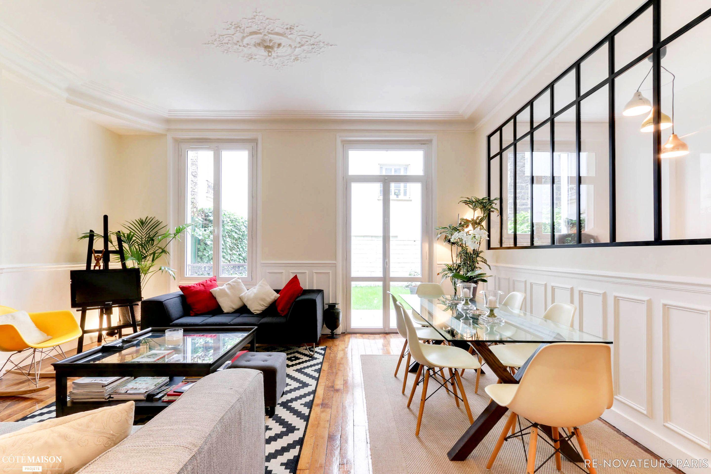 r novateurs a effectu des travaux de r novation dans cet appartement au fort potentiel afin d. Black Bedroom Furniture Sets. Home Design Ideas