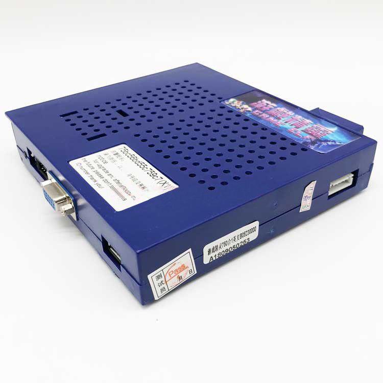 750 In 1 Horizontal Multi Arcade Jamma Game Board CGA / VGA Output
