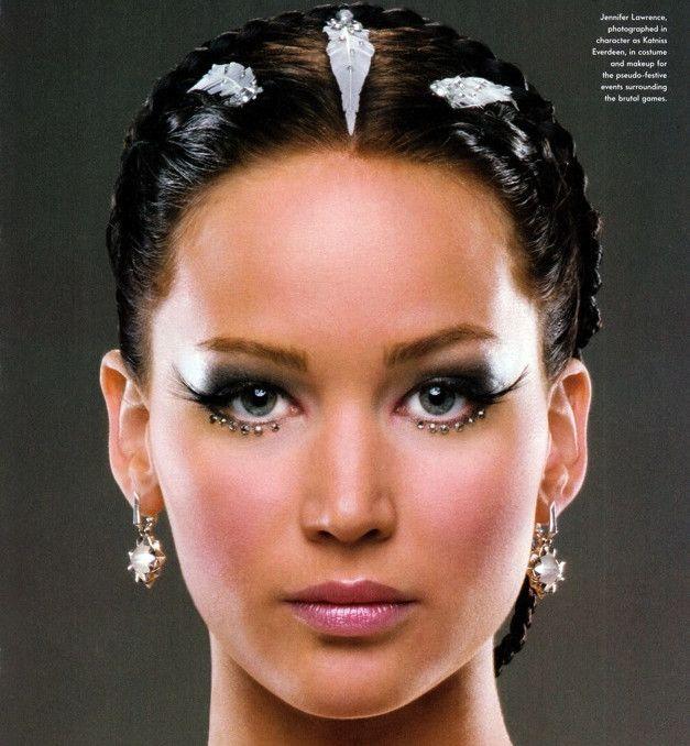 Celebrity Makeup Artist Ve Neill Talks Hunger Games Beauty Inspiration Hunger Games Jennifer Jennifer Lawrence Hunger Games Hunger Games Makeup