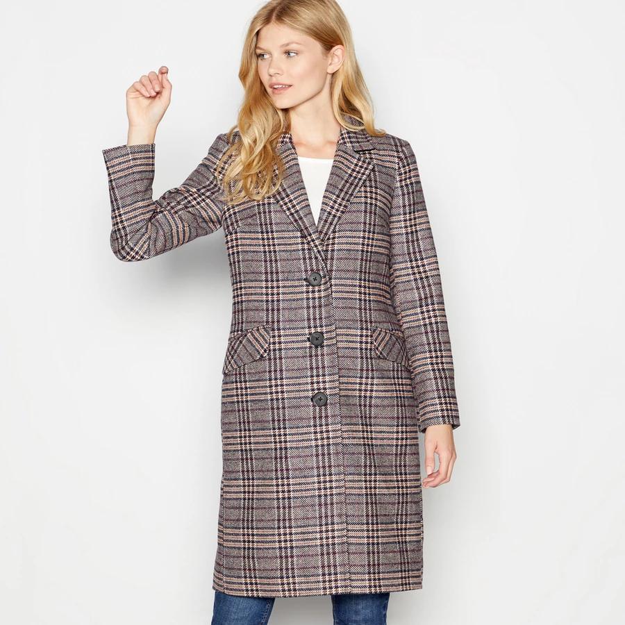 Principles Petite Multicoloured Check Petite City Coat Debenhams Knee Length Coat Dresses For Work Fashion [ 900 x 900 Pixel ]