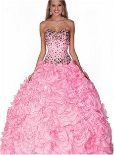 Luxurious Ball Gown Floor Length Sweetheart Beading Quinceanera Dress