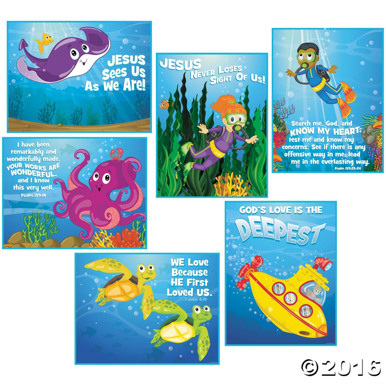 Oriental trading christian crafts - From Oriental Trading Dive Into Vacation Bible School When You Decorate Your Classroom In Under The Sea Style