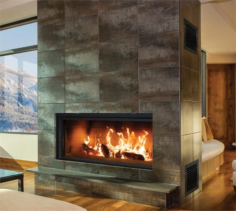 Renaissance Linear Rr50 Wood Burning Fireplace In 2019 Le Homme