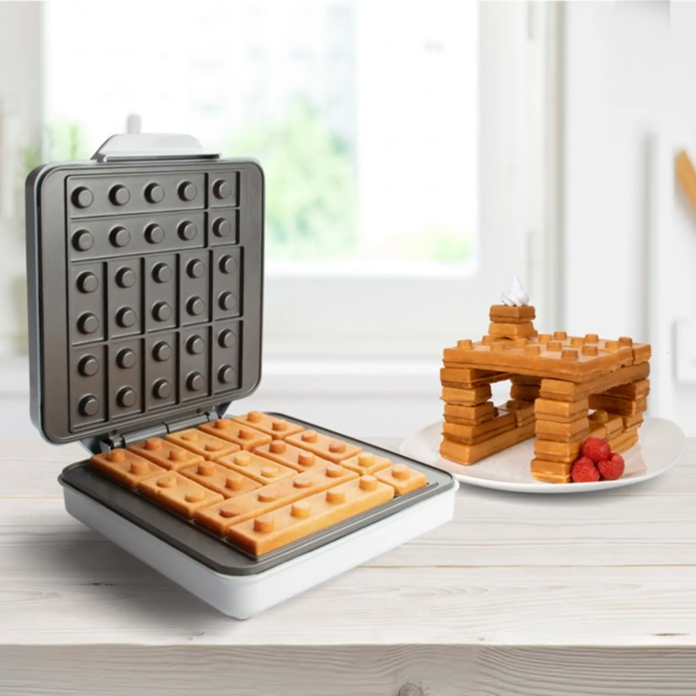 Build A Literal Waffle House With This Building Brick Waffle Maker In 2020 Waffles Maker Waffles Waffle Iron