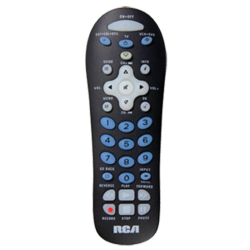 Rcr311bn Our Black Colored 3 Device Universal Remote Is Easy To Set Up And Easy To Use This Remote Works With Over 350 B Remote Rca Universal Remote Control