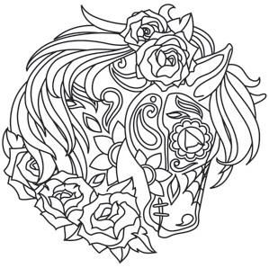 hore coloring pages  Big Horse Coloring Pages  coloring pages