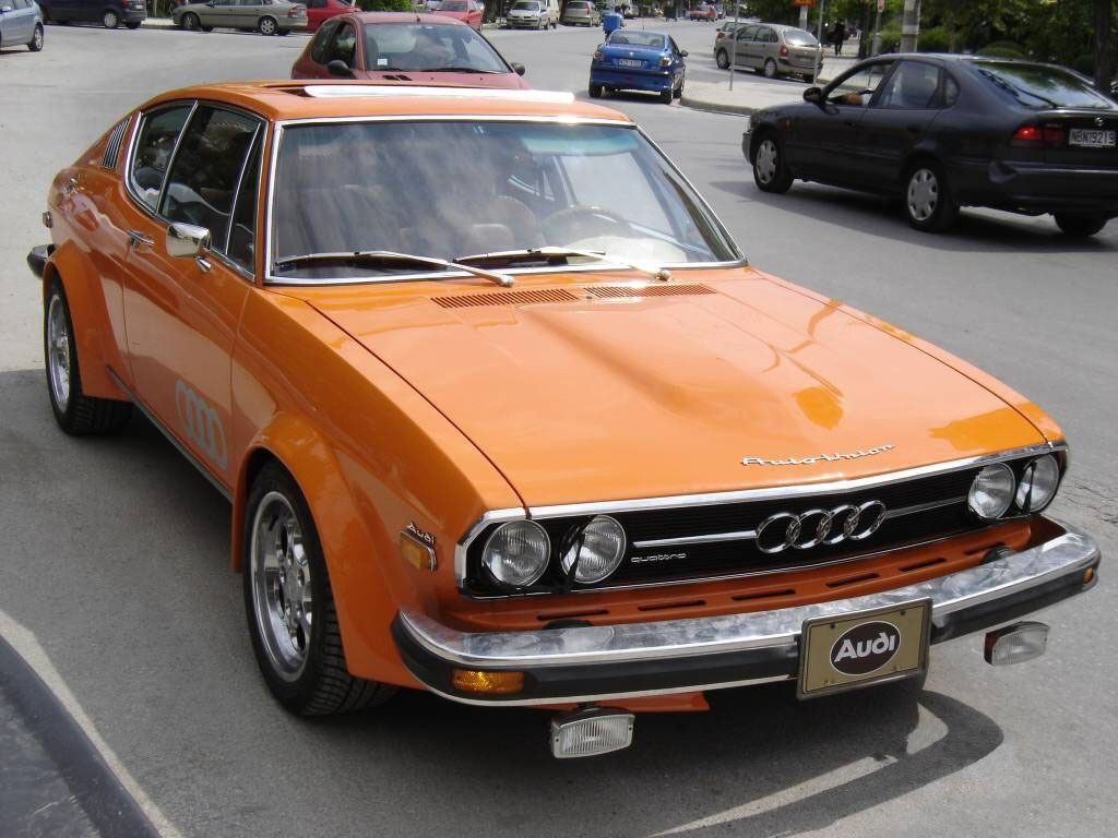 Awesome Orange Audi 100 Coupe Audi 100 Audi 100 Coupe S