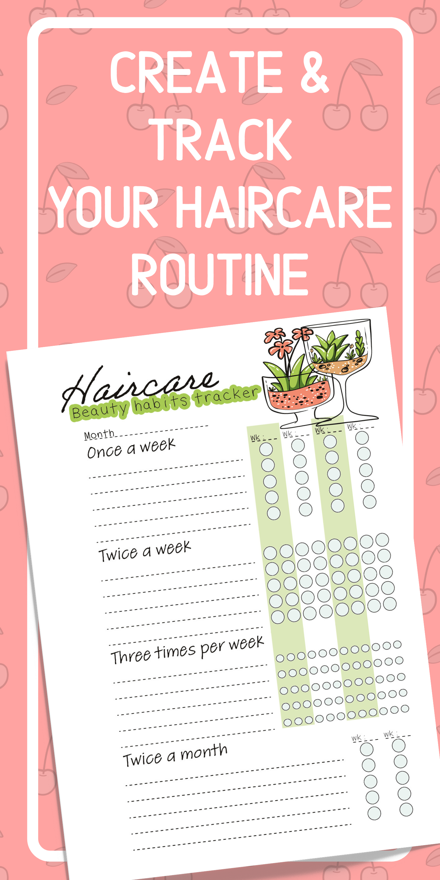 Beauty Planner Printable in 8  Beauty care routine, Beauty
