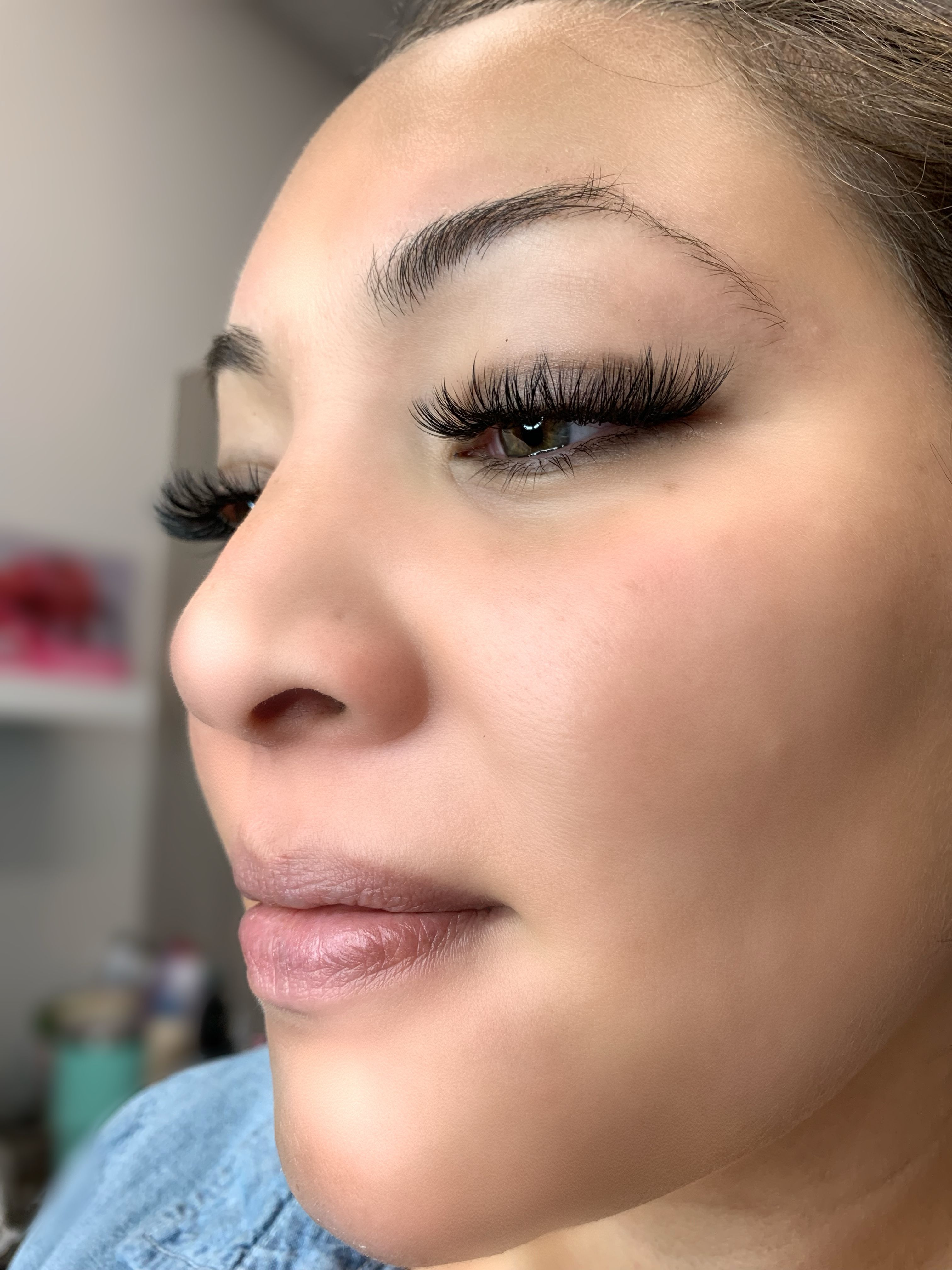 Eyelash extension lashes volume lashes eyelash extensions