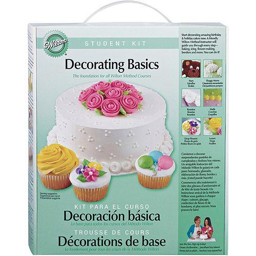 Walmart Wilton Student Kit Basic Decorating Cake Decorating Courses Cake Decorating Kits Cake Decorating Supplies