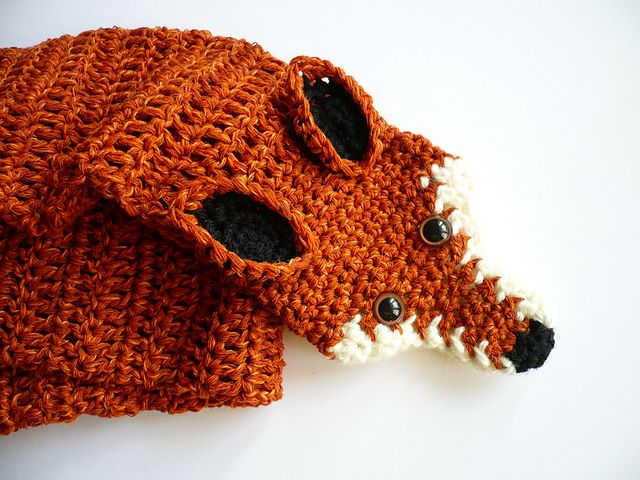 Twitchys Fox Scarf Crochet Pinterest Fox Scarf Foxes And Scarves