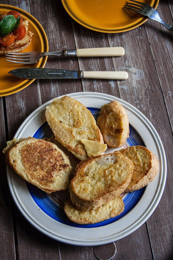 Wegan Nerd Kuchnia Roslinna Weganskie Francuskie Grzanki Food Breakfast Recipes Breakfast
