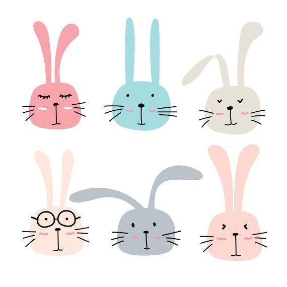 Bunny cute. Rabbit clipart