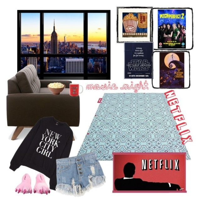 Netflix Love By Anubiss On Polyvore Featuring Interior Interiors Design