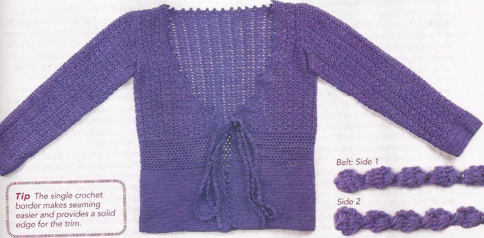 Crochetemoda: Casaquinhos
