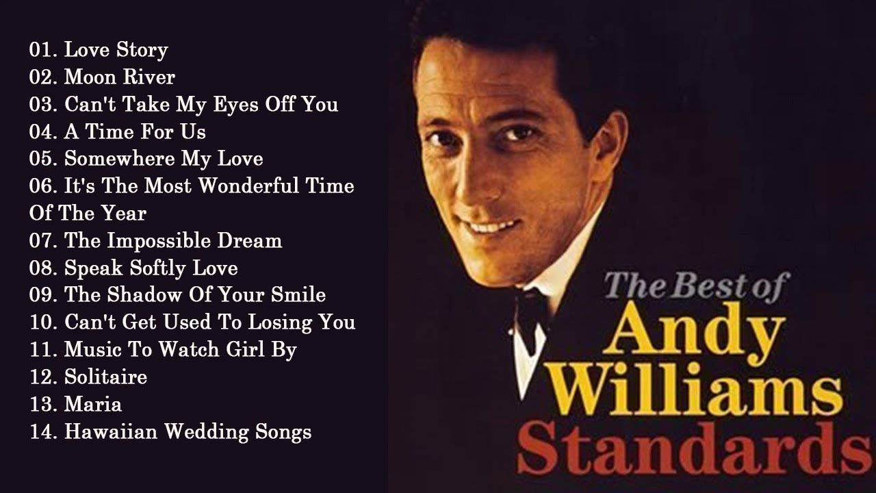 Andy Williams Greatest Hits Full Album Best Songs Of Andy Williams Youtube In 2020 Best Songs Songs Andy Williams